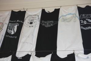 Steelwheelmc är representerade i den omfattande tröjsamlingen på Villa Löwenhertz sedan 2011 då Kenneth N donerade sin tröja till samlingarna.