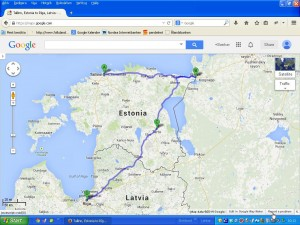 Estland och Lettlandsresa @ Tallin Narva Tartu Riga | Tallinn | Harju län | Estland
